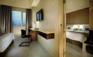 Standard Connecting room - NEO Hotel Cideng